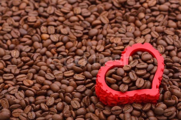 True love for the coffee Stock photo © kalozzolak