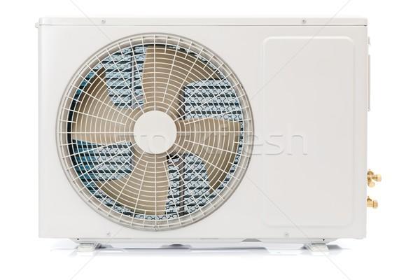 Klima birim kullanılmış soğutma hava içinde Stok fotoğraf © kalozzolak