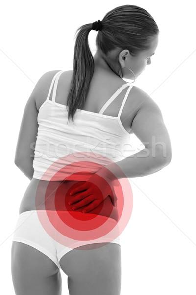 более назад фото женщину стороны медицинской Сток-фото © kalozzolak