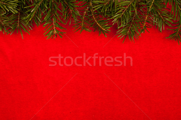 Boven Rood fluwelen achtergrond viering Stockfoto © kalozzolak
