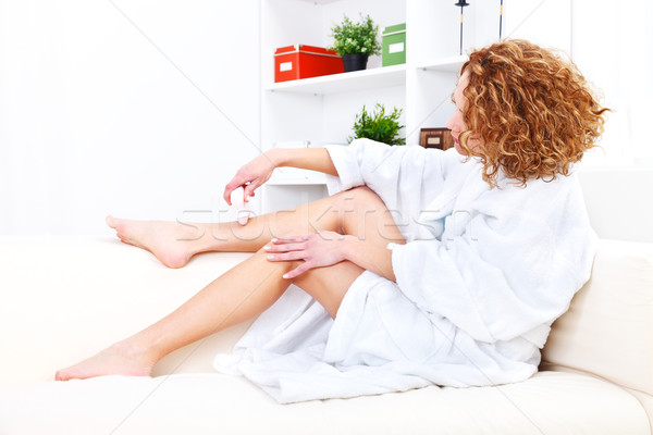 Epilation Stock photo © kalozzolak