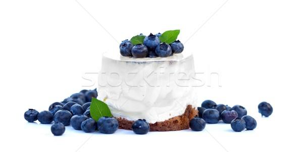 Berry cake Stock photo © kalozzolak