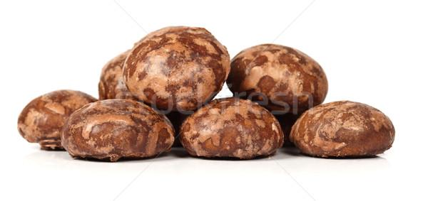 Pile of cocoa candies Stock photo © kalozzolak