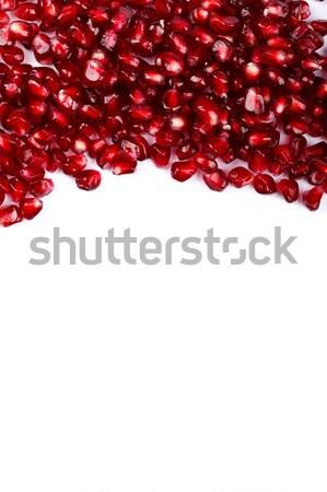 Grenadine seeds on the upper side Stock photo © kalozzolak