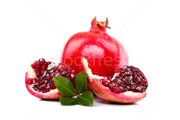 Slices of pomegranate  Stock photo © kalozzolak