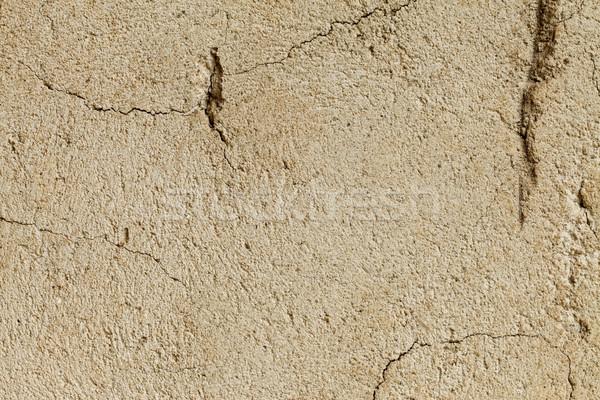 Old cracked wall Stock photo © kalozzolak
