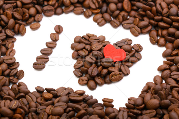 I love coffee Stock photo © kalozzolak