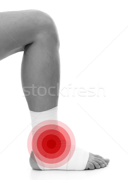 Ankle bandage Stock photo © kalozzolak