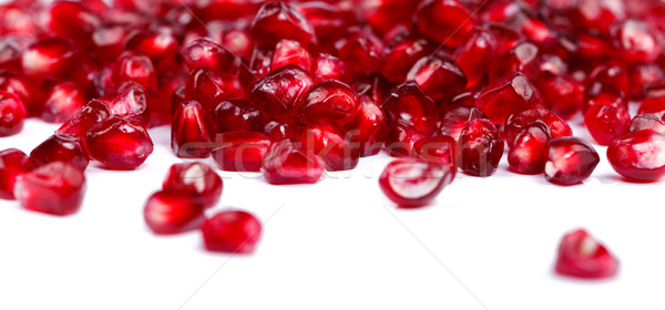 Pomegranate seeds Stock photo © kalozzolak