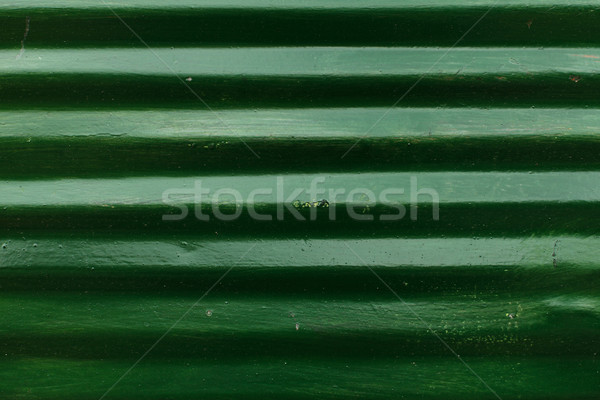 Green corrugated sheet Stock photo © kalozzolak