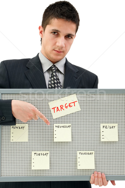Weekly target Stock photo © kalozzolak