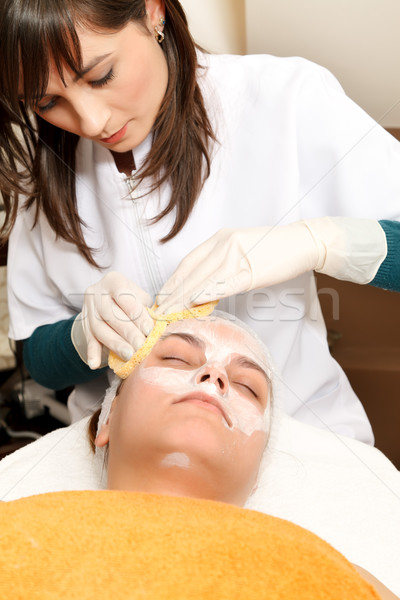 Beauty salon treatments Stock photo © kalozzolak