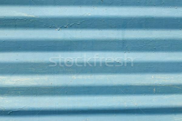 Painted metal plate Stock photo © kalozzolak