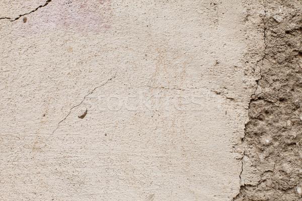 Old peeling plaster Stock photo © kalozzolak