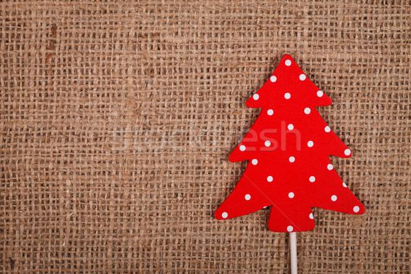 Spotted Christmas ornament Stock photo © kalozzolak