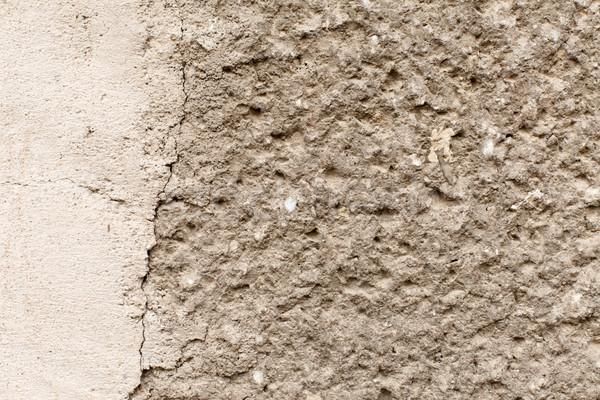 Zdjęcia stock: Nierówny · konkretnych · ściany · widoku · budynku