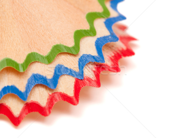 Pencil shavings Stock photo © kalozzolak