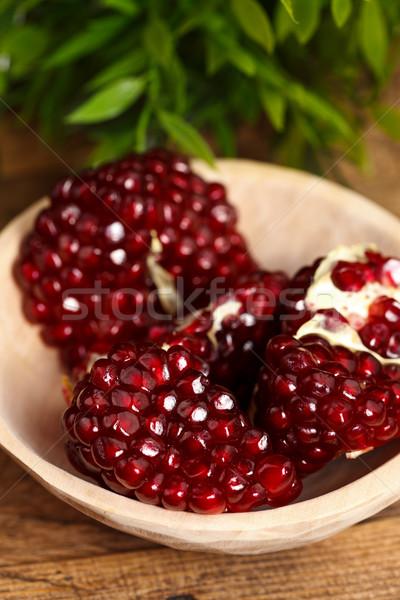 Pomegranate seeds Stock photo © kalozzolak