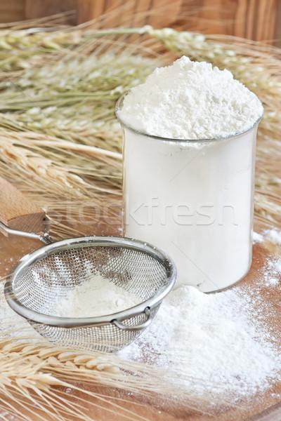 Wheat four Stock photo © Karaidel