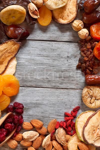 Essiccati frutti simboli vacanze Foto d'archivio © Karaidel