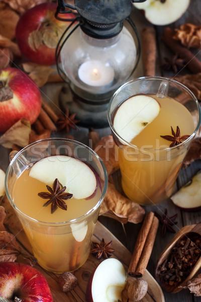 Hot apple cider Stock photo © Karaidel