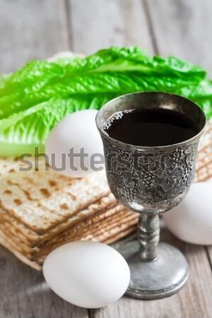 Passover background Stock photo © Karaidel