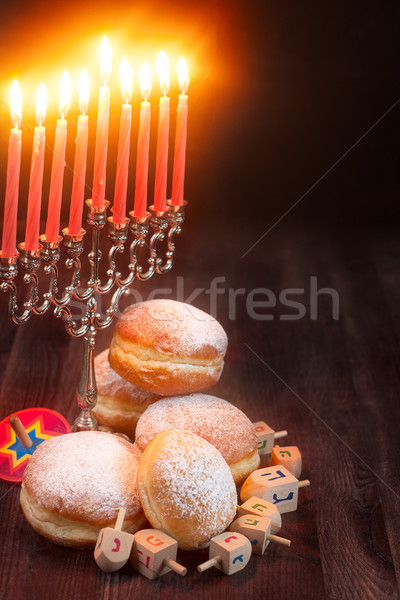 Hanukkah background Stock photo © Karaidel