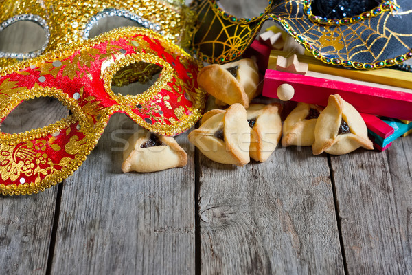 Purim background Stock photo © Karaidel