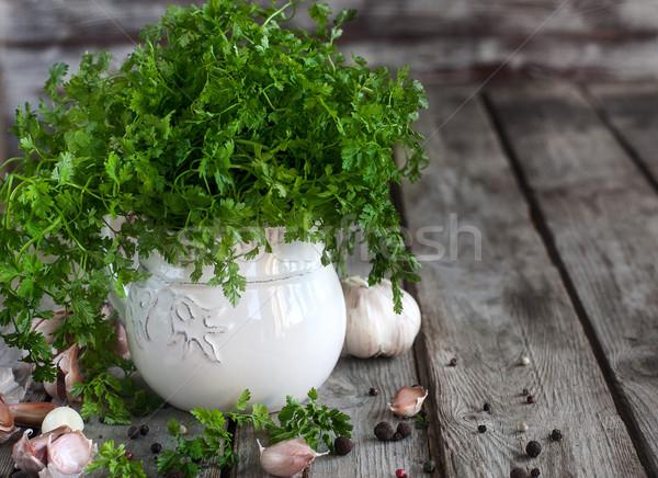 Büro sarımsak biber bo Stok fotoğraf © Karaidel