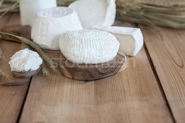 Peynir süt buğday semboller tatil bo Stok fotoğraf © Karaidel