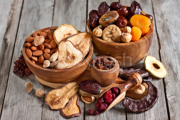 Mix of dried fruits Stock photo © Karaidel