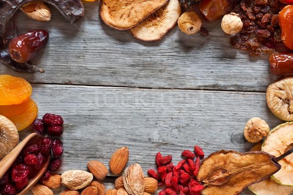 Secas frutas símbolos férias Foto stock © Karaidel