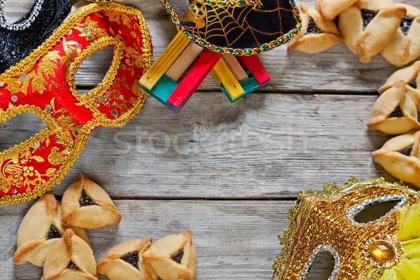 Purim background Stock photo © Karaidel