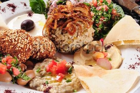 Shish kafta and tawook. Stock photo © karammiri