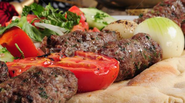 Shish kebab Stock photo © karammiri