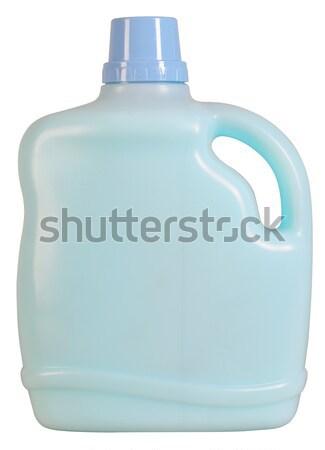 Wasmiddel fles schoonmaken product witte Stockfoto © karammiri