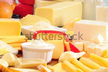 Dairy products. Stock photo © karammiri