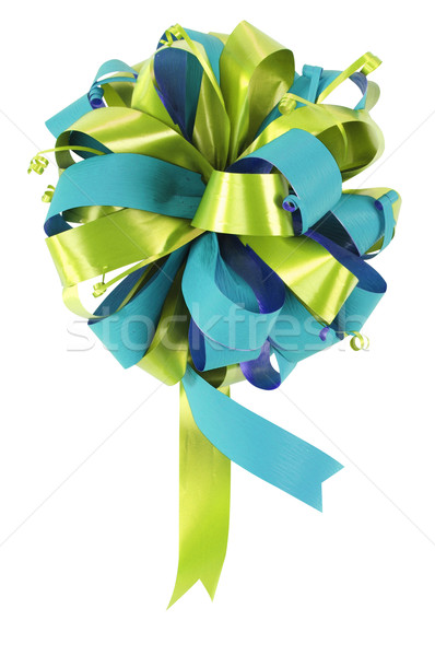 Christmas ribbon. Stock photo © karammiri