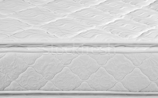 Matras geïsoleerd orthopedische witte voorjaar achtergrond Stockfoto © karammiri