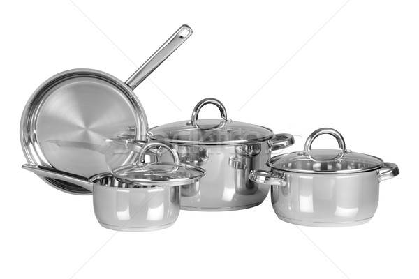 Kitchen utensils. Isolated Stock photo © karammiri
