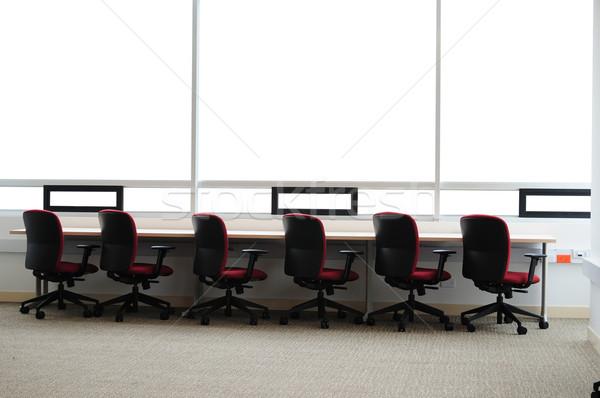 пусто современных служба интерьер мебель Сток-фото © karammiri