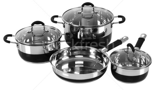Kitchen utensils. Isolated Stock photo © karammiri