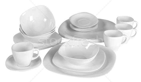 Dish ware isolated. Stock photo © karammiri