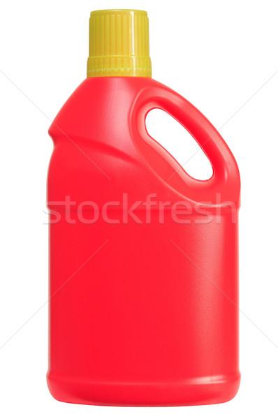 Mosószer üveg vágási körvonal takarítás termék fehér Stock fotó © karammiri