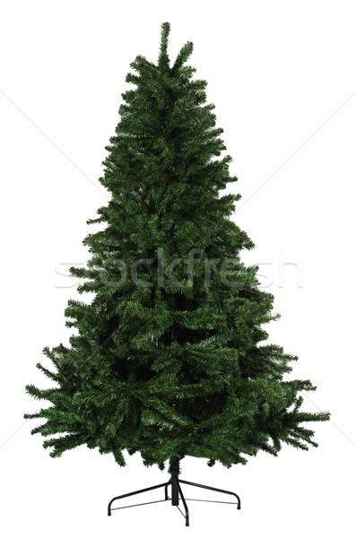 Karácsonyfa karácsony díszek fény terv háttér Stock fotó © karammiri