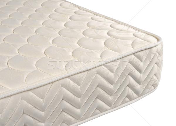 Colchón ortopédico cama aislado blanco Foto stock © karammiri