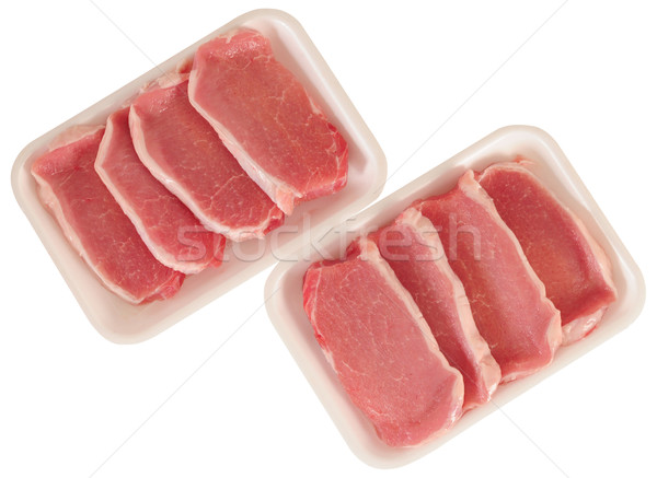 Raw meat. Stock photo © karammiri