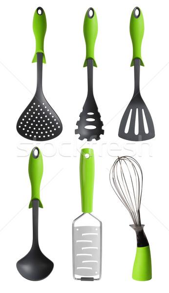 Kitchen utensils. Clipping path Stock photo © karammiri