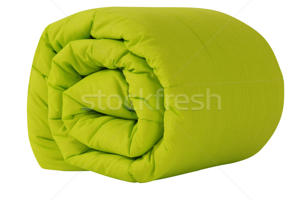 Stock photo: Bedding objects. Clipping path