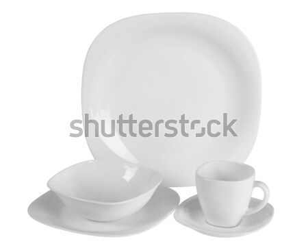 Table ware. Clipping path Stock photo © karammiri